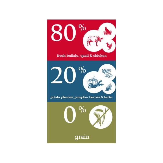 Naturediet Chicken, Rice & Carrots (390g)